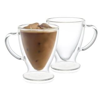 Link to JoyJolt Declan Irish Double Wall Insulated Glasses, 10 Oz Set of Two Coffee Mugs Similar Items in Dinnerware