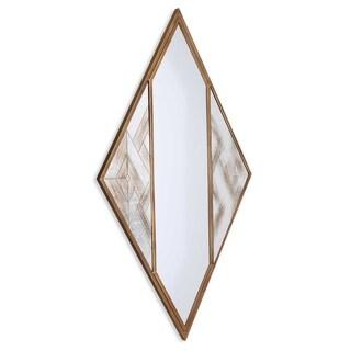 Selles Metal Framed Mirror - Antique White/Antique Brown/Bronze - A/N