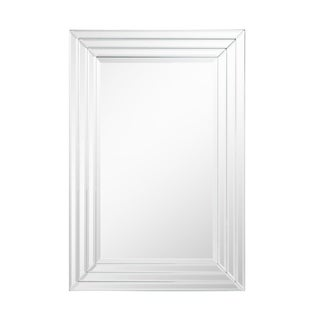Rectangle Beveled Accent Wall Mirror