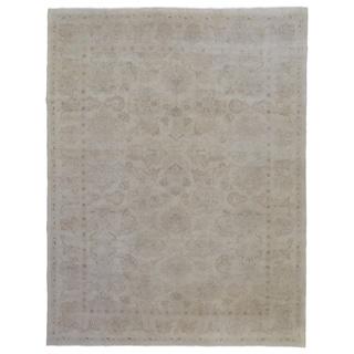 "Handmade Mahal Wool Oriental Area Rug - 7'10"" x 10'1"""
