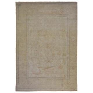 "Handmade Modern Oriental Area Rug - 9'10"" X 12'10"""