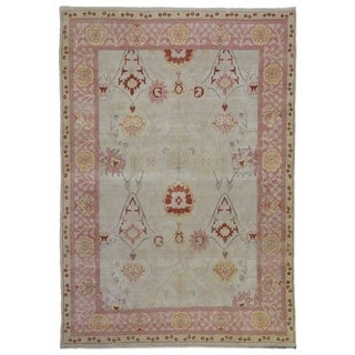 """Hand-knotted Mahal Wool Oriental Area Rug - 7'6"""" x 10'9"""""""