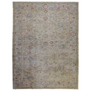 "One-of-A-Kind Fine Oriental Sarouk Rug  - 10'10"" x 13'7"""