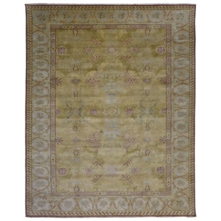 "Handmade Fine Oushak Oriental Area Rug - 8'2"" x 10'3"""