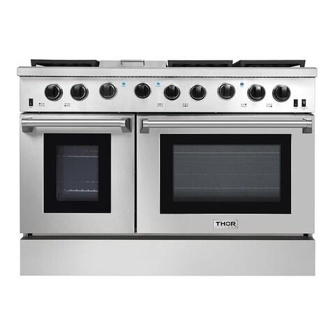 "Thor Kitchen - 48"" Professional Gas Range in Stainless Steel"