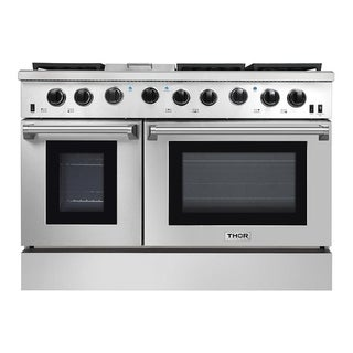 """Thor Kitchen - 48"""" Professional Gas Range in Stainless Steel"""