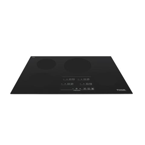 """Thor Kitchen - 30"""" Induction Cooktop in Black with 4 Elements"""