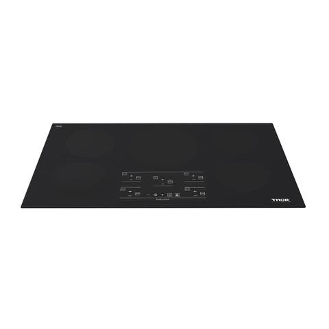 """Thor Kitchen - 36"""" Induction Cooktop in Black with 5 Elements"""