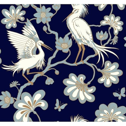 Egrets Wallpaper, 27 in x 27 ft - 27 in. x 27 ft. = 60.75 sq.ft