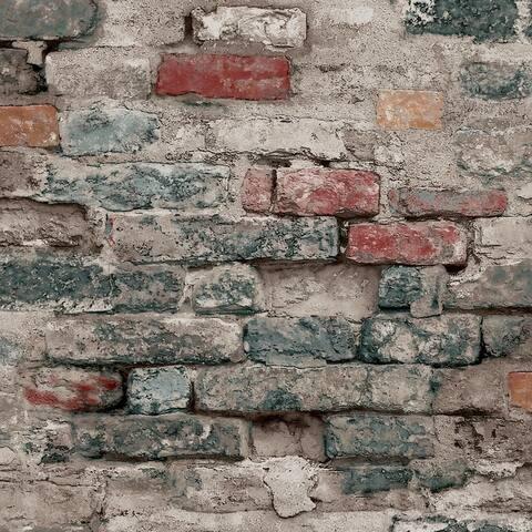 Brick Alley Wallpaper, 20.5 in x 33 ft - 20.5 in. x 33 ft. = 56 sq ft