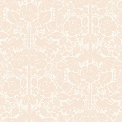 Fairy Tales Wallpaper, 20.5 in. x 33 ft. = 56 sq ft, in Pink