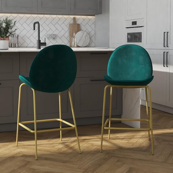 CosmoLiving by Cosmopolitan Astor Upholstered Counter Stool. Opens flyout.