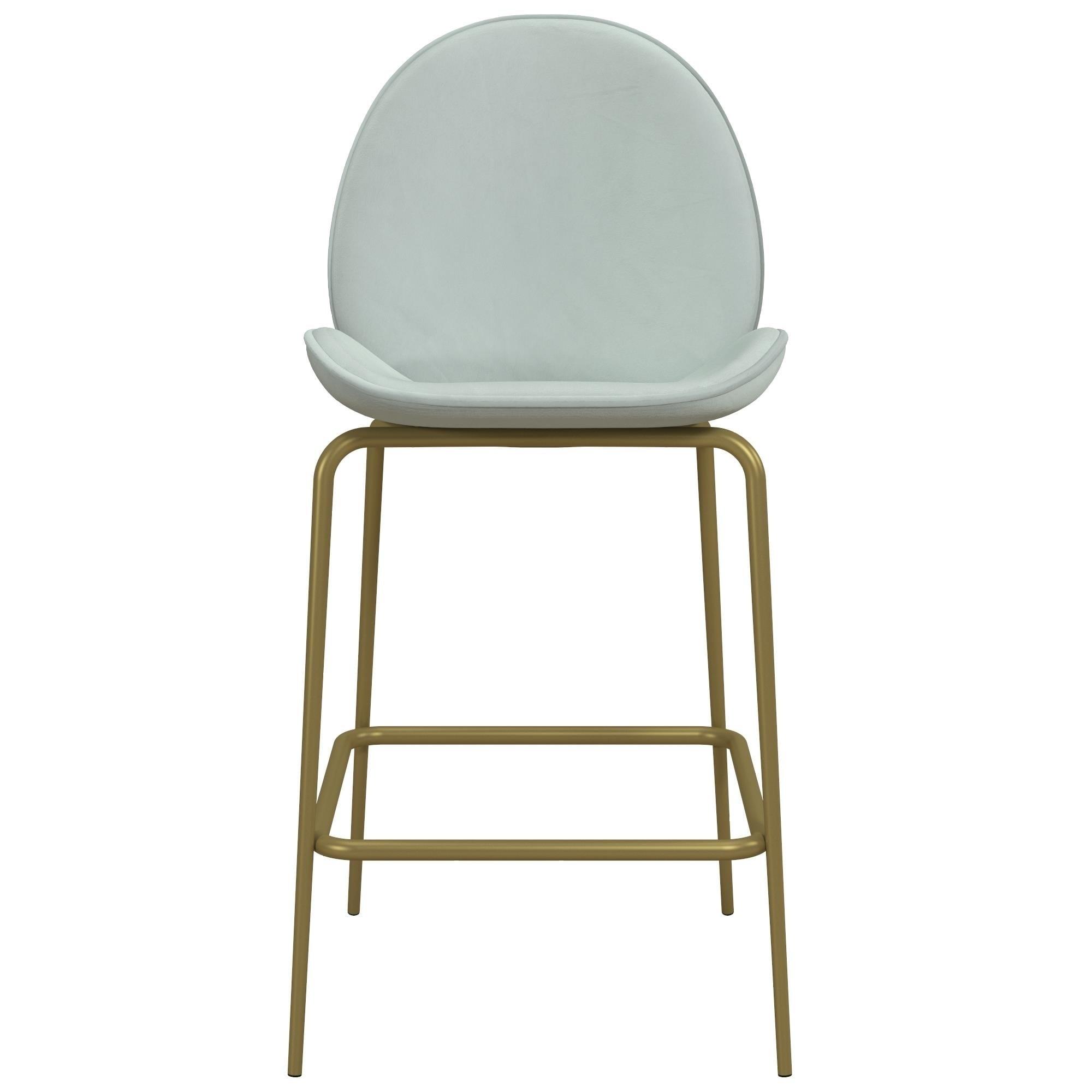 Fantastic Cosmoliving By Cosmopolitan Astor Upholstered Counter Stool Evergreenethics Interior Chair Design Evergreenethicsorg