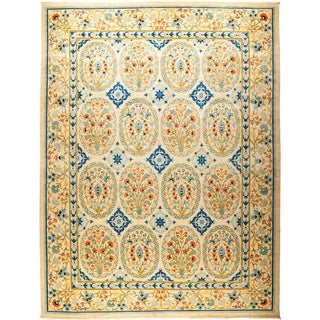 "Suzani, Hand Knotted Area Rug - 12' 1"" x 15' 10"" - 12'1"" x 15'10"""