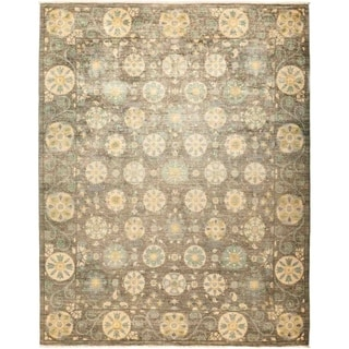 "Suzani, Hand Knotted Area Rug - 8' 1"" x 10' 4"" - 8'1"" x 10'4"""