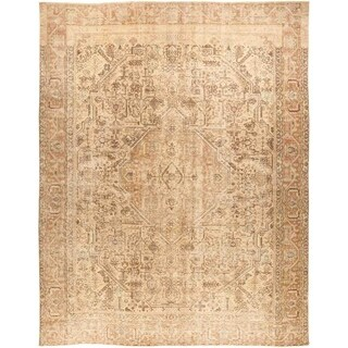 """Vintage, Hand Knotted Area Rug - 9' 5"""" x 11' 10"""" - 9'5"""" x 11'10""""/Surplus"""
