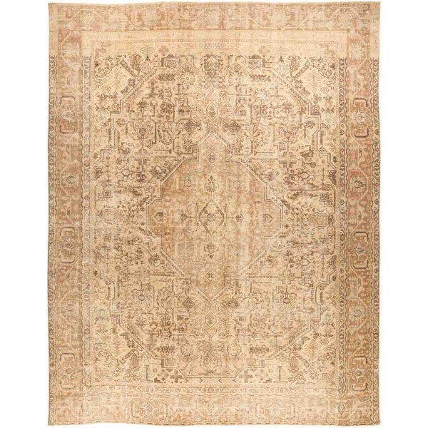 "Vintage, Hand Knotted Area Rug - 9' 5"" x 11' 10"" - 9'5"" x 11'10""/Surplus"