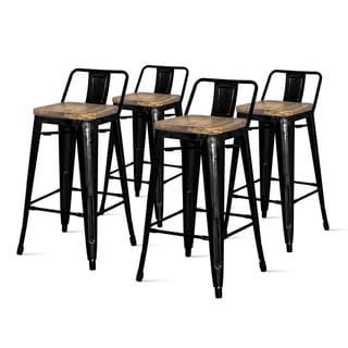 Link to Metropolis Low Back Counter Stool,Set of 4 Similar Items in Dining Room & Bar Furniture