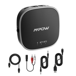 Mpow Bluetooth Transmitter and Receiver, 2-in-1 Bluetooth Adapter with Bluetooth Version 5.0