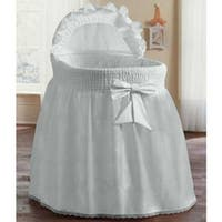 "Precious Bassinet Liner/Skirt and Hood - for 17"" x 31"" bassinet"