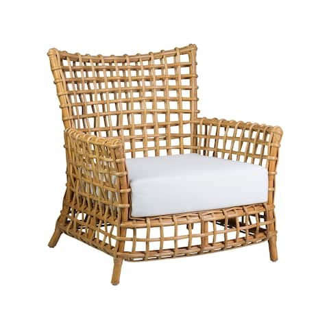 East At Main's Meghan Rattan Occasional Arm Chair