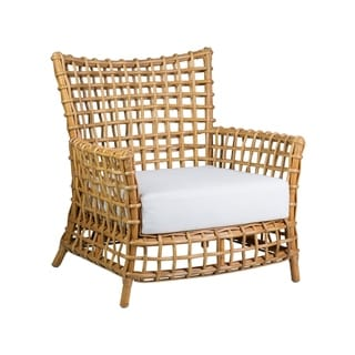Link to East At Main's Meghan Rattan Occasional Arm Chair Similar Items in Living Room Chairs