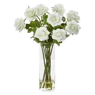 Nearly Natural Rose Artificial Arrangement
