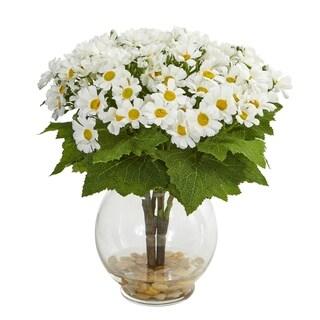 Nearly Natural Daisy Artificial Arrangement