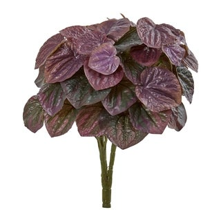 """14"""" Peperomia Artificial Plant (Set of 6) (Real Touch)"""