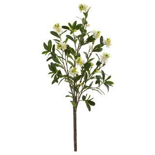 Nearly Natural 47-inch Peach Blossom Branch Artificial Flower (Set of 2)