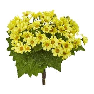 Daisy Bush Artificial Flower (Set of 6)