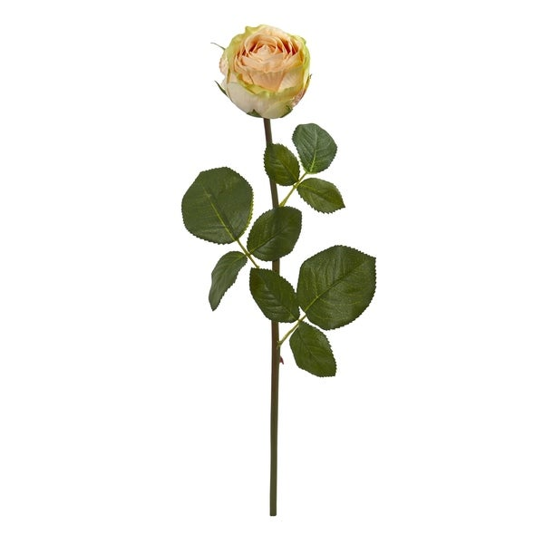Rose Spray 18-inch Artificial Flowers - Set of 12