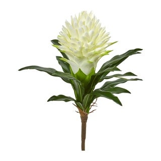 Nearly Natural Ginger 17-inch High Artificial Flowers (Set of 4)