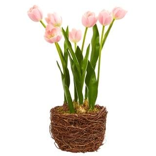 Nearly Natural Tulip Artificial Arrangement