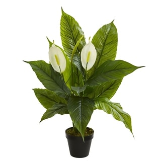 Nearly Natural Real Touch Spathiphyllum Artificial Plant