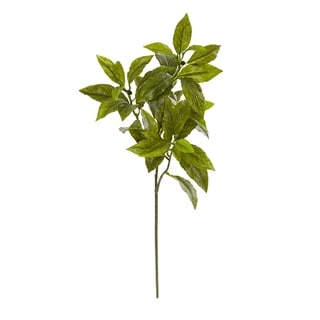 Nearly Natural 26-inch Coffee Leaf Artificial Plant (Set of 12)