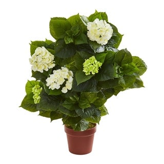 Nearly Natural Hydrangea 29-inch Artificial Plant