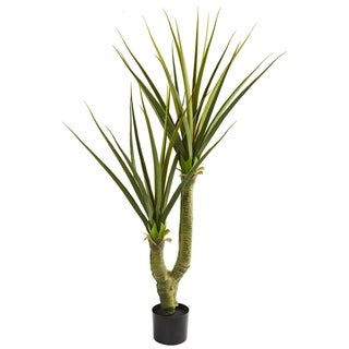 Nearly Natural 5-foot Yucca Artificial Plant