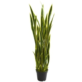 Nearly Natural 5-foot Sansevieria Artificial Plant