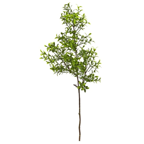 Nearly Natural 23-inch Boxwood Spray Artificial Plant - Set of 12