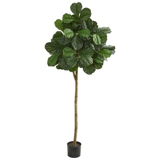 Nearly Natural 6-foot Artificial Fiddle Leaf Fig Tree