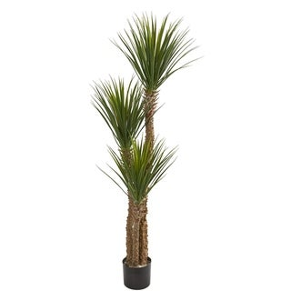 Nearly Natural 57-inch Yucca Artificial Tree