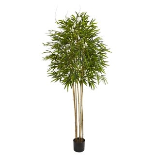 Nearly Natural Bamboo 6-foot Artificial Tree