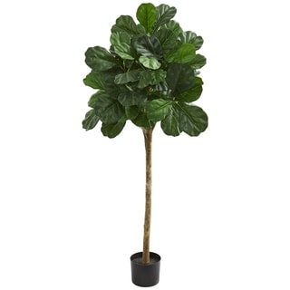Nearly Natural 5-foot Fiddle Leaf Fig Artificial Tree