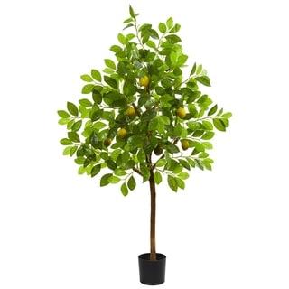 Nearly Natural 4-foot Lemon Artificial Tree