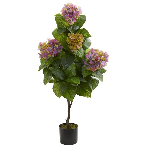 Nearly Natural 45-inch Hydrangea Artificial Plant