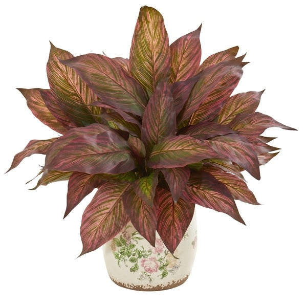 Nearly Natural 21-inch Musa Artificial Plant