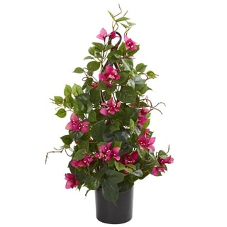 Link to Nearly Natural Bougainvillea 24-inch Artificial Climbing Plant Similar Items in Decorative Accessories