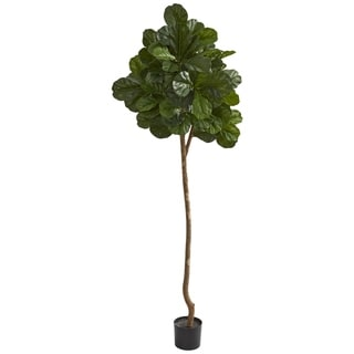 Nearly Natural 7-foot Fiddle Leaf Fig Artificial Tree