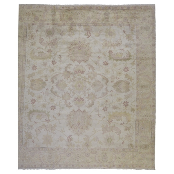 """One-of-A-Kind FineRugCollection Fine Peshawar Square Rug - 10'1"""" x 10'2"""""""